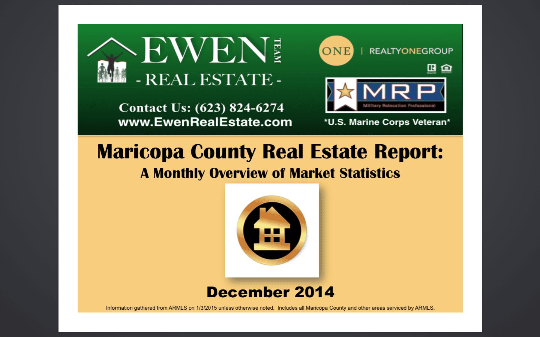 December 2014 Real Estate Market Report