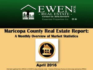 April Real Estate Market Report
