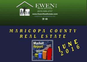 June 2016 real estate market report by Ewen Real Estate